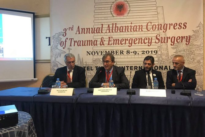 3-rd Annual Albania Congres of Trauma & Emergency Surgery