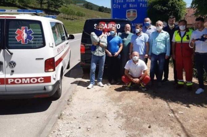 """Mr.sci.med.dr Adem Zalihić, direktor JU ZHMP KS, iz Novog Pazara """"Stanje je i dalje teško, broj hospitaliziranih rijetko pada ispod 300""""."""