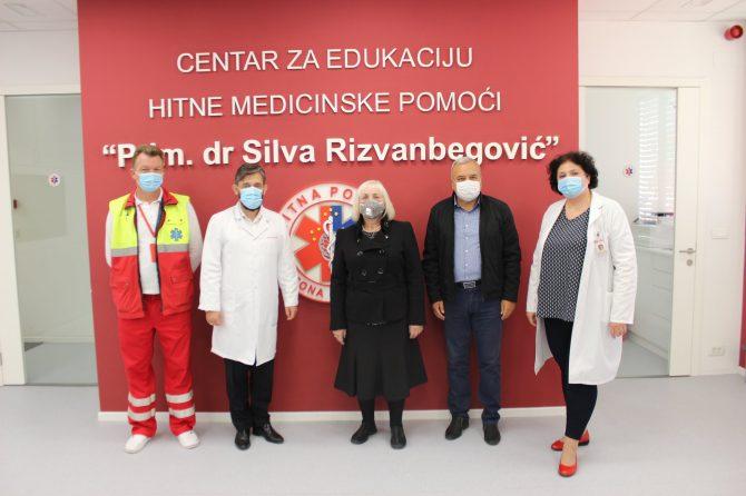 Posjeta Crvenog križa JU ZHMPKS