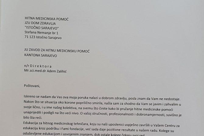 """""""ISTOČNO SARAJEVO I SARAJEVO ZAJEDNO ZA PACIJENTE"""" ❗💪❤"""